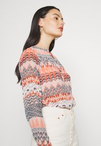 ONLY - ONLZAFFY - Bluser - cloud dancer/aztec - 3