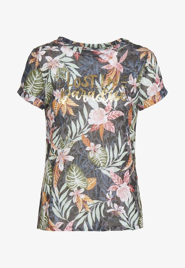 ONLRILLA O NECK  - T-shirt print - kalamata