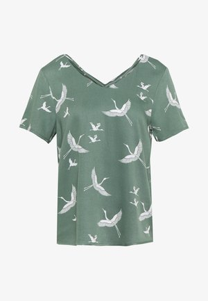ONLALMA LIFE STRING - Blouse - hedge green