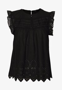 ONLY - ONLSABRYNA LYRIC TOP - Bluser - black - 0
