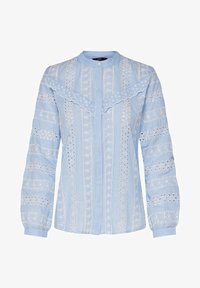 ONLY - OBERTEIL LOCHSTICKEREI - Button-down blouse - cloud dancer - 5
