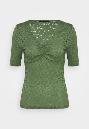 ONYLENNI V NECK - Camicetta - hedge green