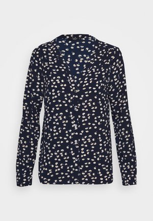 ONLNOVA LUX PLACKET  - Blus - night sky