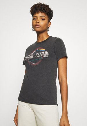 ONLPINK FLOYD LIFE BOX - T-Shirt print - black