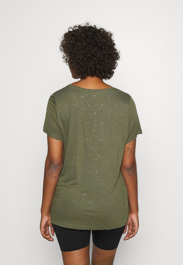 ONLBELIS LIFE - Camiseta estampada - kalamata