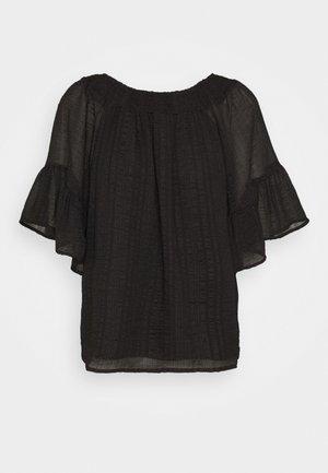 ONLOLIVIA OFF SHOULDER - Blusa - black