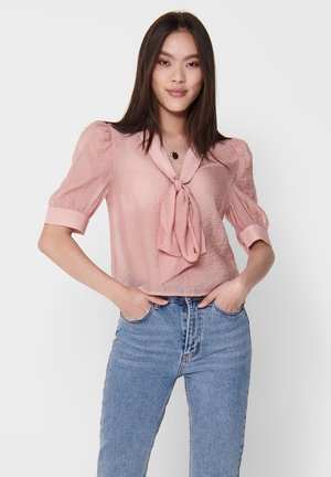 PUFFÄRMEL - Blouse - rose tan