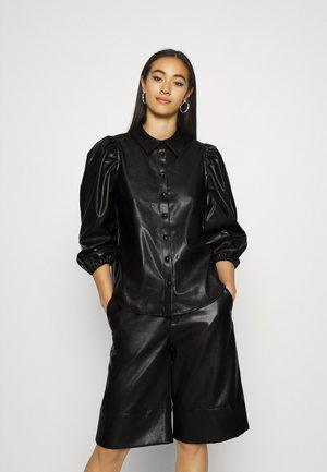 ONLJIL RONYA PUFF SHIR - Skjorte - black