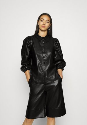 ONLJIL RONYA PUFF SHIR - Camicia - black