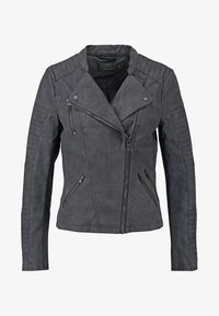 ONLY - ONLAVA BIKER  - Faux leather jacket - black - 7
