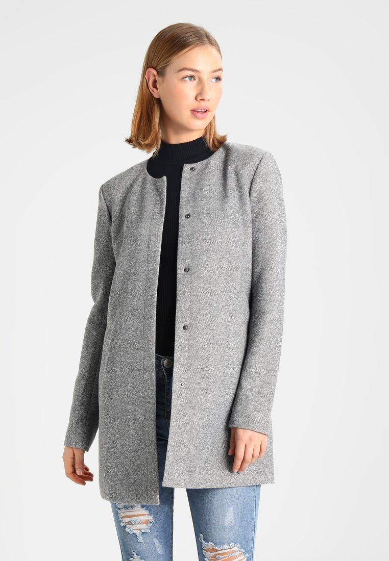 ONLY - NOOS - Krátký kabát - light grey melange