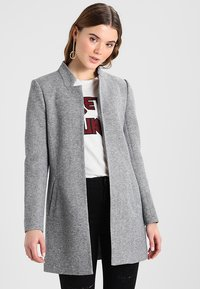 ONLY - ONLSOHO COATIGAN  - Blazer - light grey melange - 0