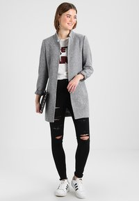 ONLY - ONLSOHO COATIGAN  - Blazer - light grey melange - 1