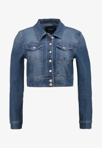 ONLY - ONLNEW WESTA CROPPED JACKET - Kurtka jeansowa - medium blue denim - 3