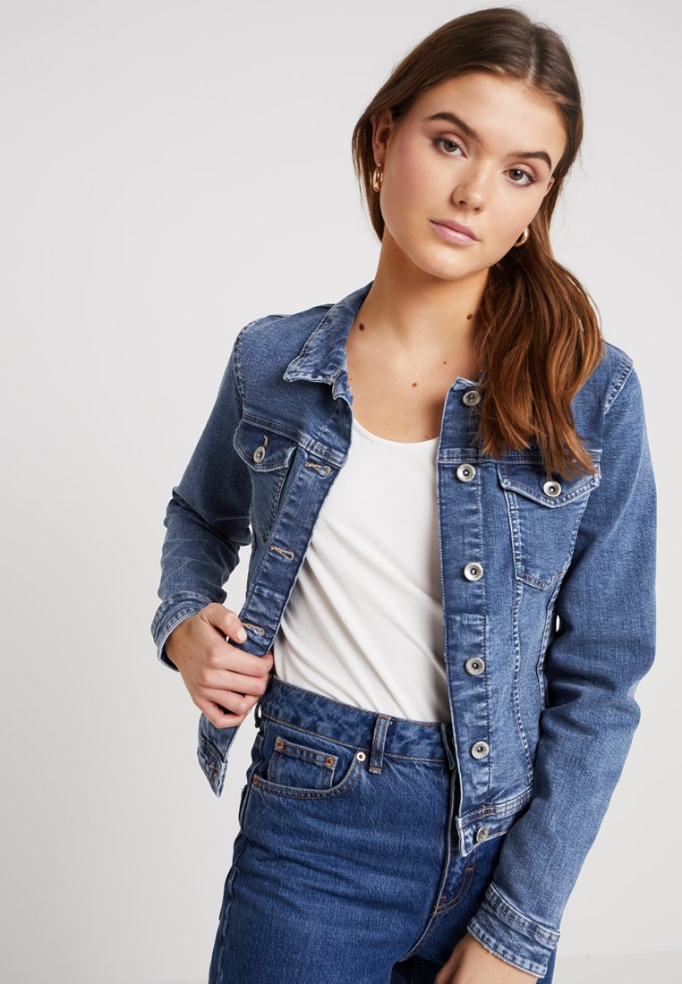 ONLY - ONLTIA - Denim jacket - medium blue denim