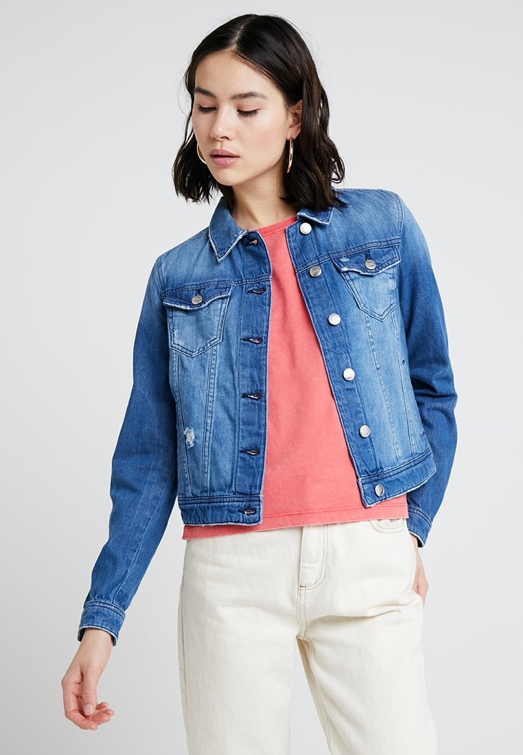 ONLY - onlCHRIS JACKET  - Jeansjacke - Blue Denim