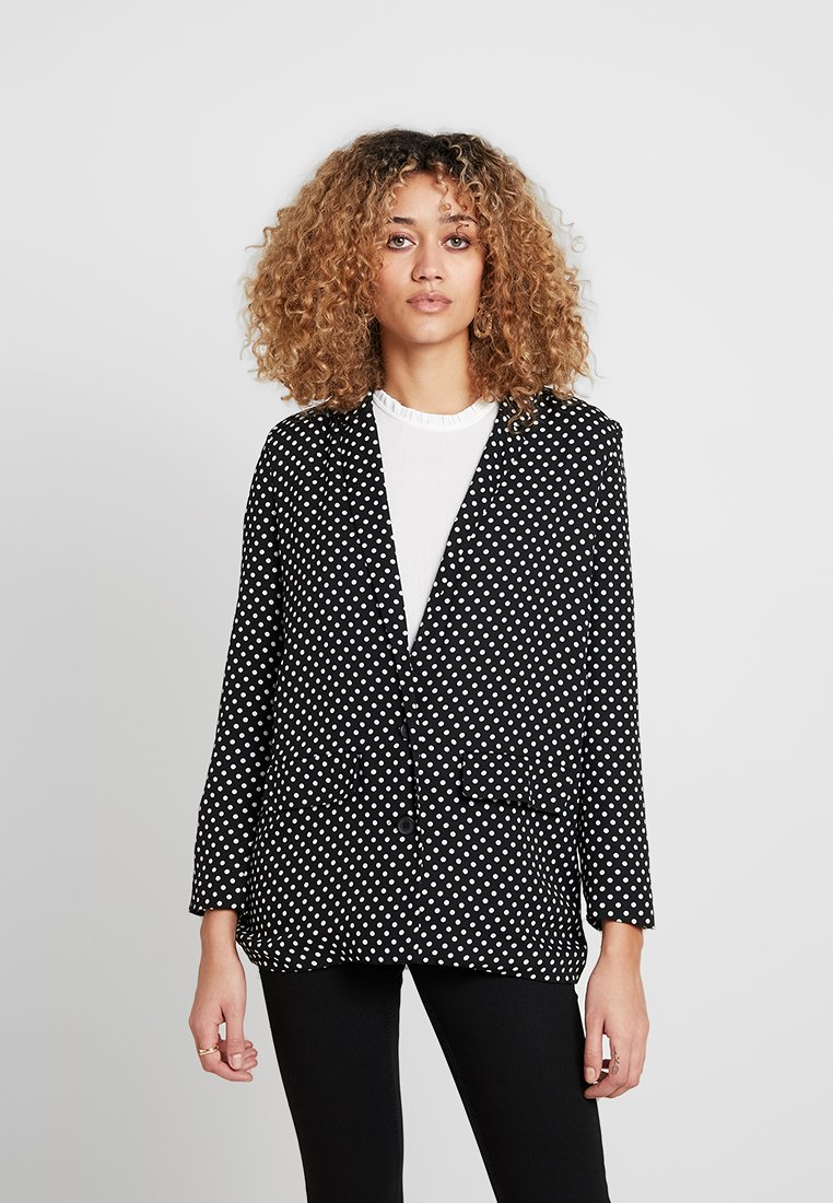 ONLY - ONLVIGGA - Blazer - black/white
