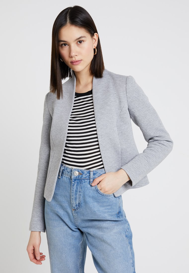 ONLY - ONLLINK RICKS - Blazer - light grey/melange