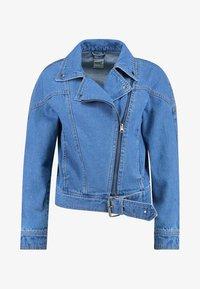 ONLY - ONLCHRISTA GERRICK JACKET - Veste en jean - medium blue denim - 4
