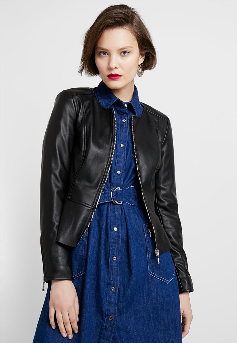 ONLY - ONLSOFIA JACKET - Faux leather jacket - black