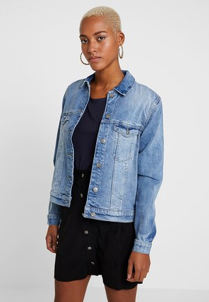 ONLFEXK WOW JACKET - Denim jacket - light blue denim