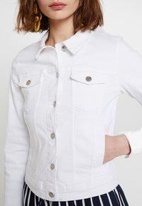 ONLY - ONLTIA JACKET - Jeansjakke - white - 5