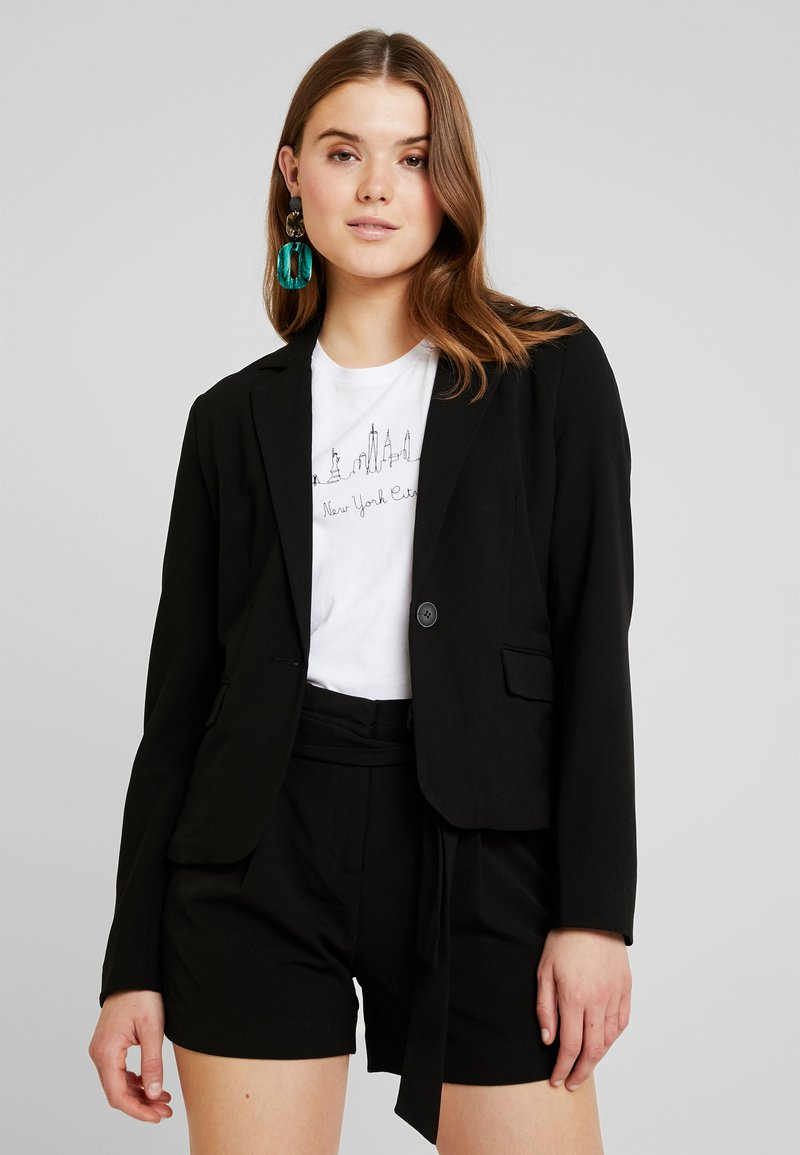 ONLY - ONYTINI FITTED - Blazer - black