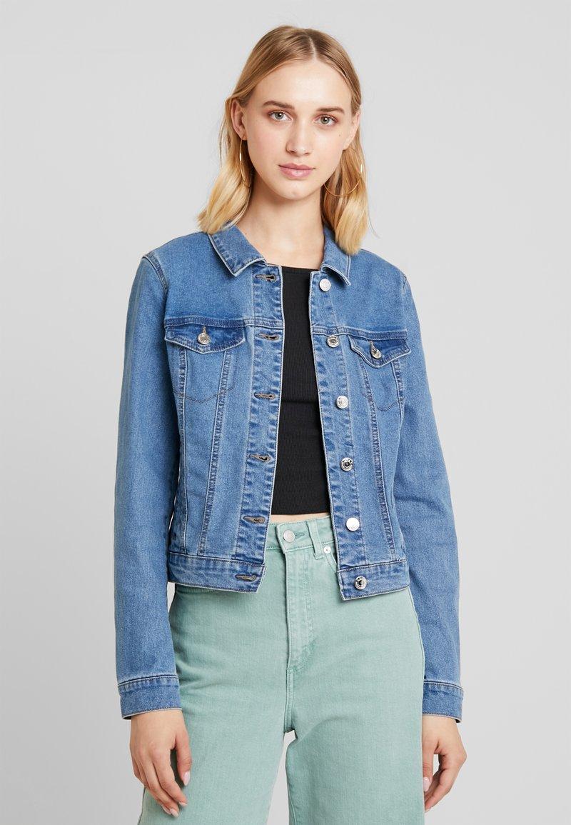 ONLY - ONLTIA JACKET - Denim jacket - medium blue denim