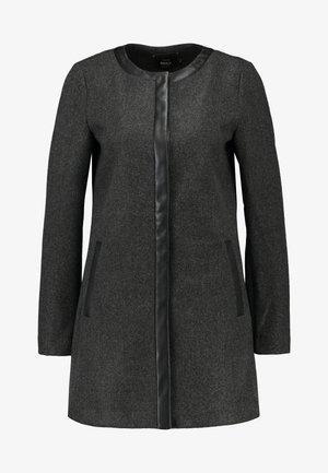 ONLADELINA ADELE BONDED COATIGAN - Abrigo corto - dark grey