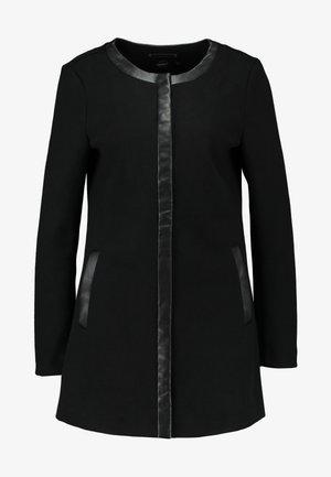 ONLADELINA ADELE BONDED COATIGAN - Kurzmantel - black