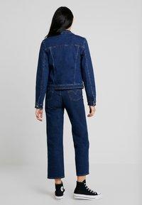 ONLY - ONLTIA JACKET - Jeansjakke - dark blue denim - 2