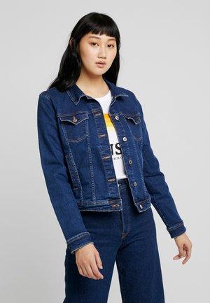 ONLTIA JACKET - Jeansjakke - dark blue denim