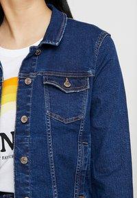 ONLY - ONLTIA JACKET - Jeansjakke - dark blue denim - 4