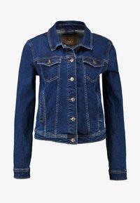 ONLY - ONLTIA JACKET - Jeansjakke - dark blue denim - 3