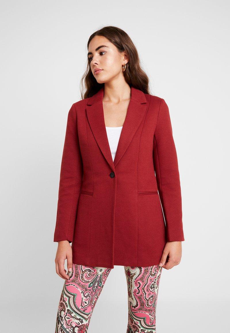ONLY - ONLLINEA COATIGAN - Short coat - merlot