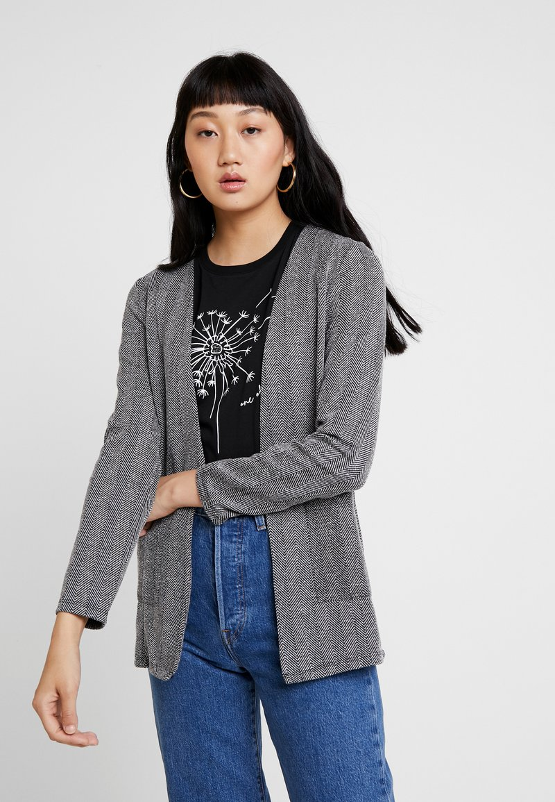 ONLY - ONLFLIFE - Blazer - dark grey melange/moonbeam herring
