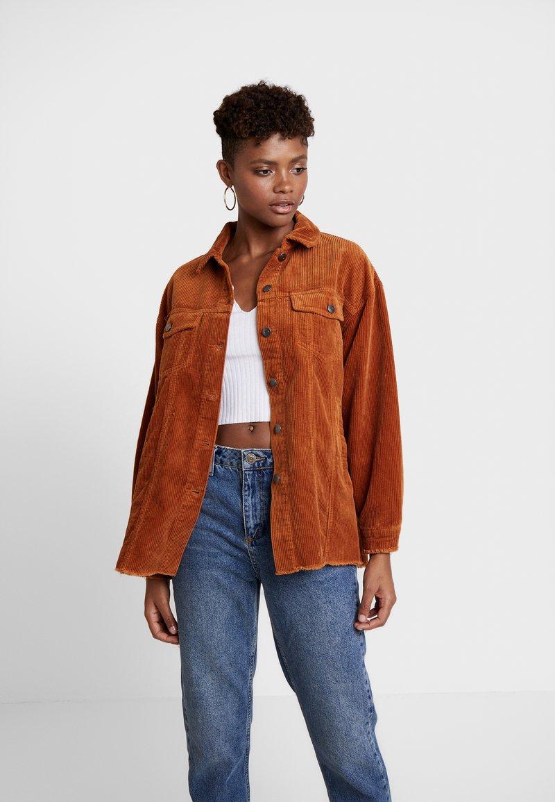 ONLY - ONLBITTEN - Summer jacket - ginger bread