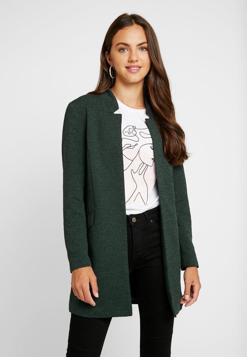 ONLY - ONLLINDA COATIGAN - Korte frakker - green gables melange