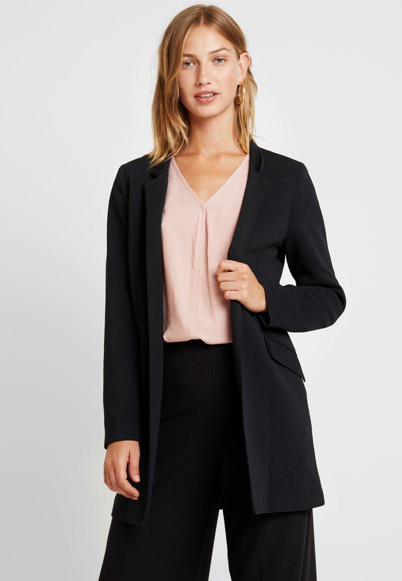 ONLY - ONLLINDA COATIGAN - Short coat - black