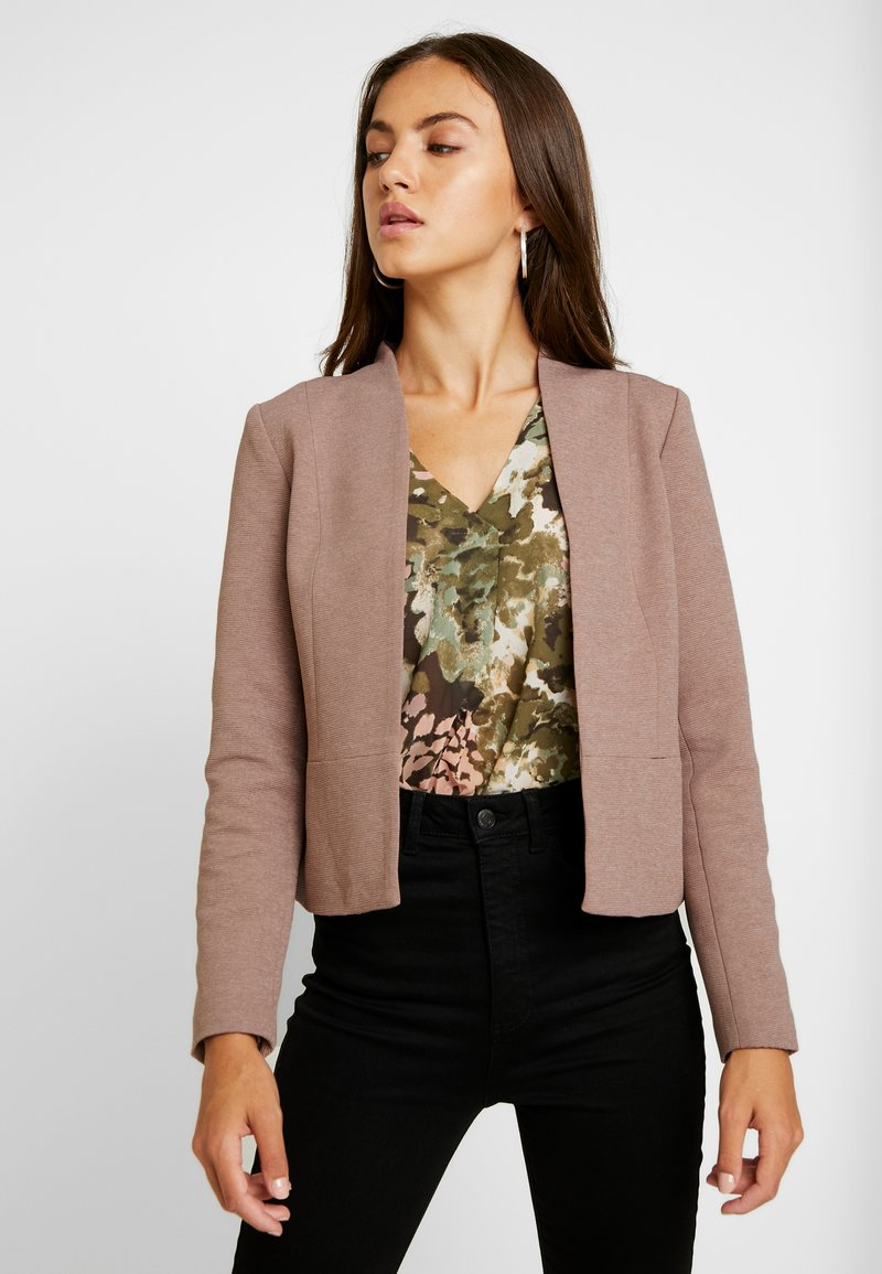ONLY - ONLLINDA FITTED - Blazer - mocha mousse melange