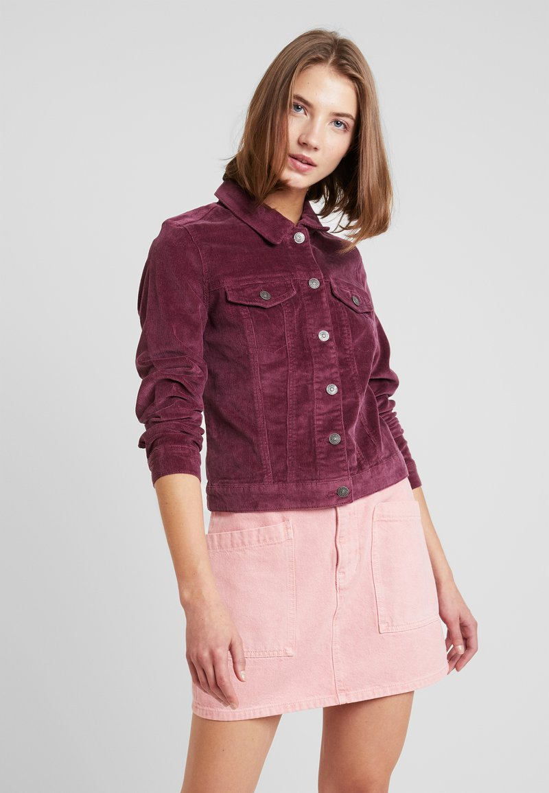 ONLY - ONLTIA JACKET - Chaqueta fina - rose wine