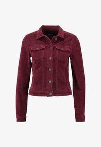 ONLY - ONLWESTA GLOBAL JACKET - Summer jacket - tawny port - 4