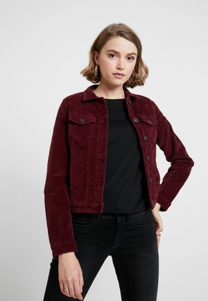 ONLWESTA GLOBAL JACKET - Chaqueta fina - tawny port