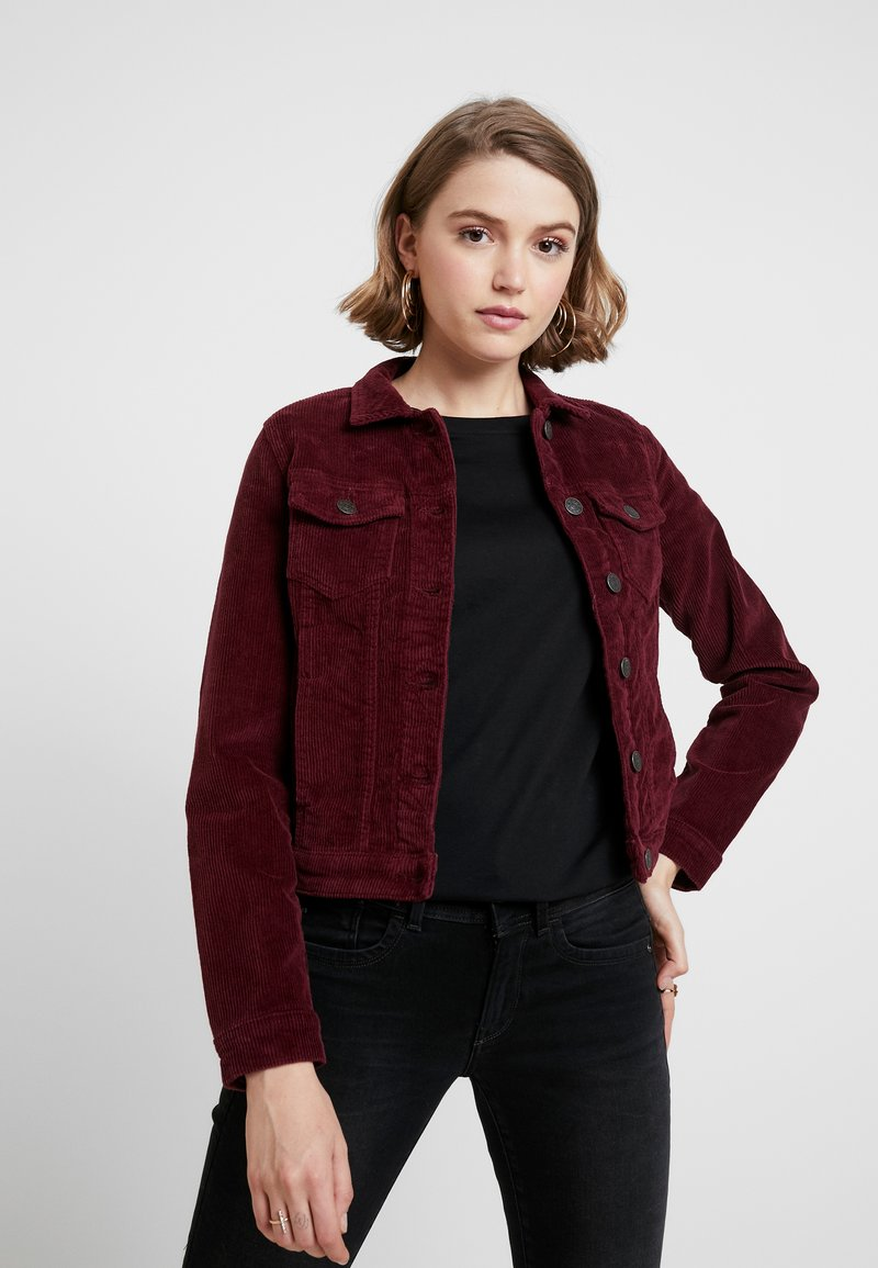 ONLY - ONLWESTA GLOBAL JACKET - Leichte Jacke - tawny port