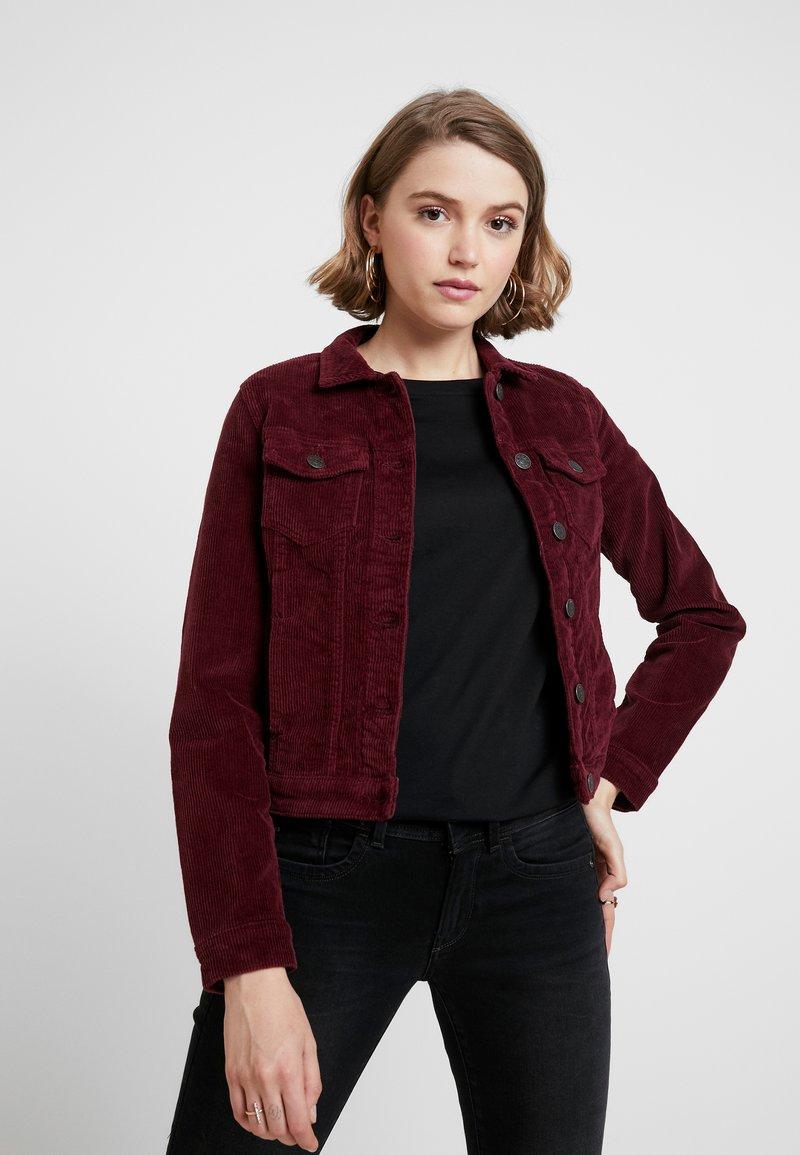 ONLY - ONLWESTA GLOBAL JACKET - Summer jacket - tawny port