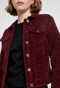 ONLY - ONLWESTA GLOBAL JACKET - Summer jacket - tawny port - 5