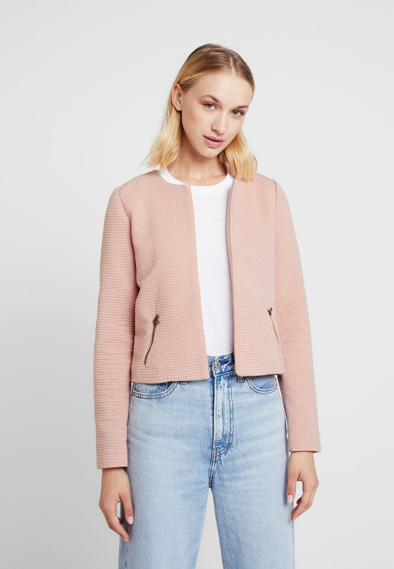 ONLY - ONLMAUA JACKET - Bleiseri - misty rose