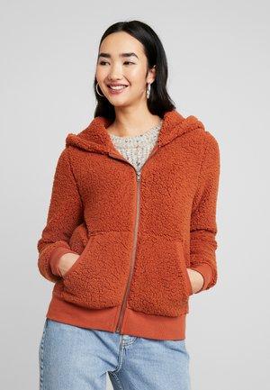 ONYCAROLINE - Fleece jacket - ginger bread