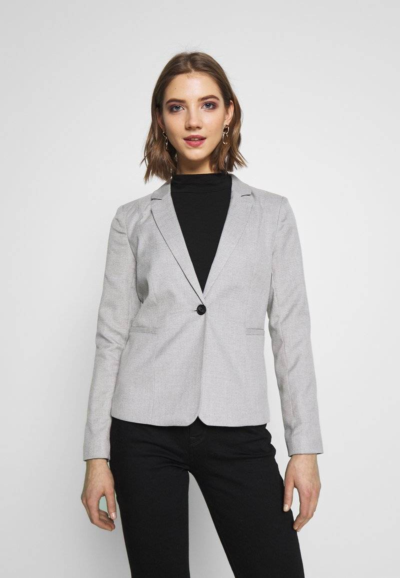 ONLY - ONLRITA - Blazer - light grey melange