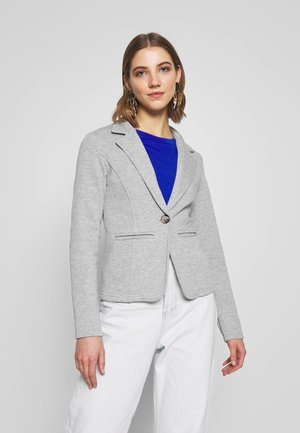 ONLSAGA BUTTON - Blazer - light grey melange